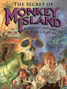 Box art for the game The Secret of Monkey Island