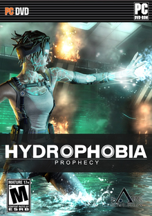 Box art for the game Hydrophobia: Prophecy