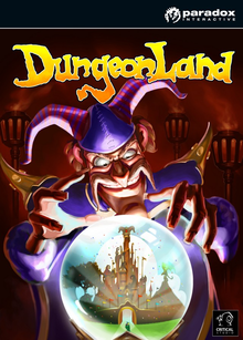 Box art for the game Dungeonland