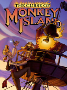 Box art for the game The Curse of Monkey Island