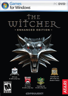 Box art for the game The Witcher: Enhanced Edition