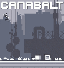 Box art for the game Canabalt