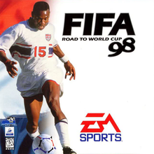 Box art for the game FIFA: Road to World Cup 98