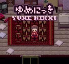 Capa do jogo Yume Nikki