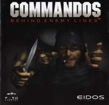 Box art for the game Commandos: Behind Enemy Lines