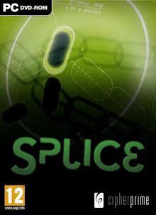 Box art for the game Splice