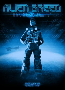 Box art for the game Alien Breed: Impact