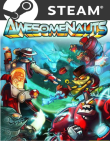 Box art for the game Awesomenauts