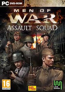 Box art for the game Men of War: Assault Squad