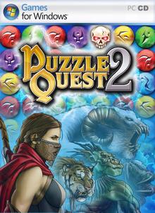 Capa do jogo Puzzle Quest 2