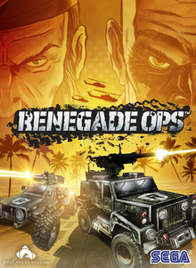 Box art for the game Renegade Ops