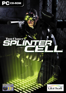Box art for the game Tom Clancy's Splinter Cell