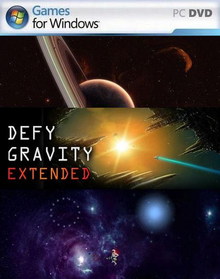 Box art for the game Defy Gravity Extended