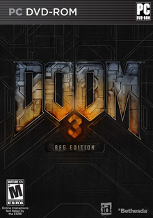 Box art for the game Doom 3: BFG Edition