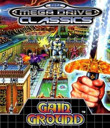 Box art for the game Gain Ground
