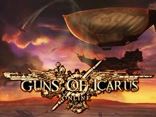 Box art for the game Guns of Icarus Online