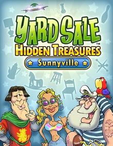 Box art for the game Yard Sale Hidden Treasures: Sunnyville