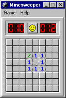 Box art for the game Minesweeper