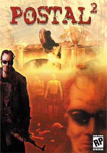 Box art for the game Postal 2