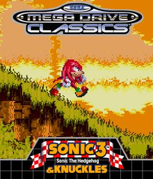 Box art for the game Sonic & Knuckles