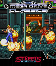 Box art for the game Streets of Rage