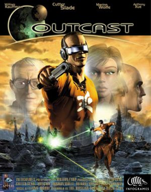 Box art for the game Outcast