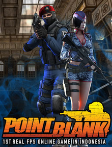 Box art for the game Point Blank