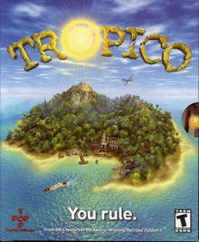 Box art for the game Tropico