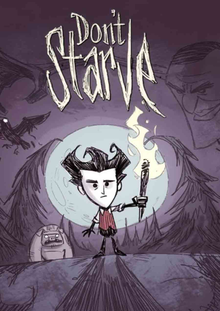 Box art for the game Don't Starve
