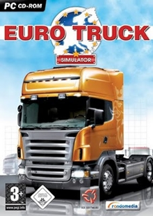 Box art for the game Euro Truck Simulator