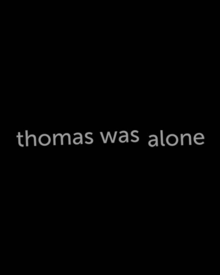 Box art for the game Thomas Was Alone