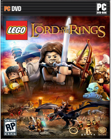 Box art for the game LEGO The Lord of the Rings
