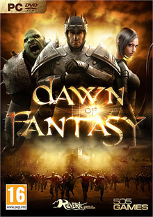 Box art for the game Dawn of Fantasy