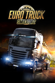 Box art for the game Euro Truck Simulator 2
