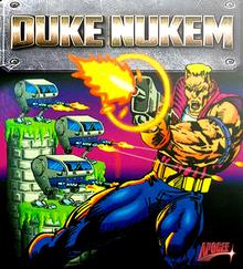 Box art for the game Duke Nukem