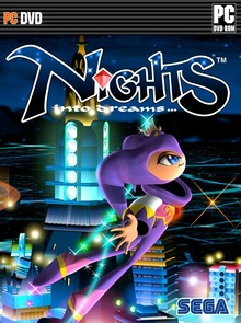 Box art for the game NiGHTS into Dreams