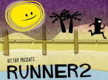 Box art for the game Bit.Trip Presents - Runner 2: Future Legend of Rhythm Alien