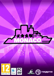 Box art for the game Monaco: What's Yours Is Mine