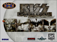 Box art for the game Kiss: Psycho Circus - The Nightmare Child