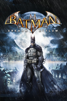 Box art for the game Batman: Arkham Asylum Game of the Year Edition