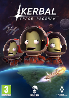 Box art for the game Kerbal Space Program