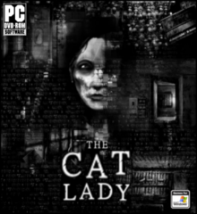 Box art for the game The Cat Lady
