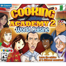 Box art for the game Cooking Academy 2: World Cuisine