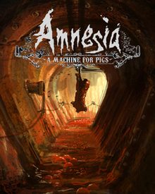 Box art for the game Amnesia: A Machine for Pigs