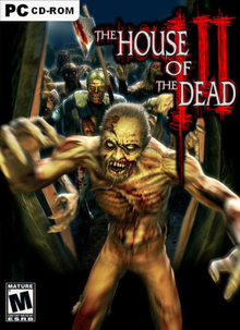 Box art for the game House of the Dead III