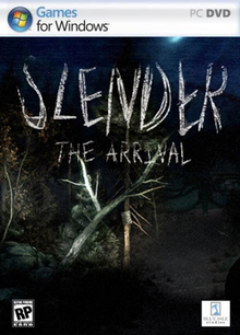 Box art for the game Slender: The Arrival