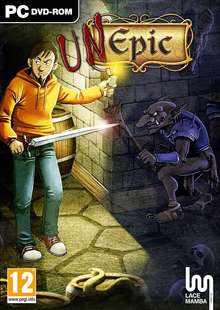 Box art for the game Unepic