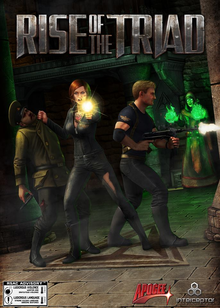 Box art for the game Rise of the Triad (2013)
