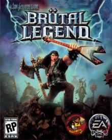 Box art for the game Brutal Legend