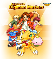 Box art for the game Digimon Masters Online